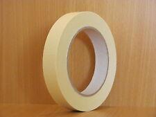 BBK-K80 / 48 x Abdeckband 19 mm x 50 m Lackiererband Kreppband Abklebeband 80°C