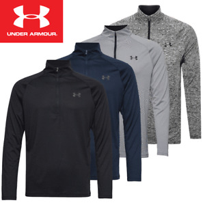 UNDER ARMOUR UA TECH 2.0 MENS HeatGear® 1/4 ZIP JUMPER TRAINING TOP / 2021 MODEL