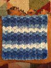 Crochet Dishcloths.face Cloth.wash Cloth.size 8.5x8.5 Inches?multicoloured.shell