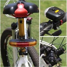 Bicycle 7 LED Fire Brake Bicycle Lamp Bell Signal Brake Indicator Rotation #E9C