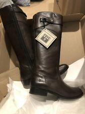 Women's Frye Knee High Molly Button Boots Size 9