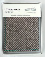 Dynomighty BILLFOLD TWEED AC-DR1 Super Strong Microfiber Wallet >NEW<