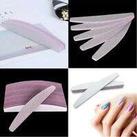 2/6/10Pcs Professional Acrylic Manicure Files Nail Grit 100/180 Sanding File
