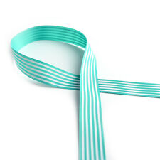 25mm Grosgrain Ribbon Cloth Tape DIY Hair Accessory Shoe Clothing Craft 3c Green