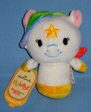 Hallmark Itty Bittys Rainbow Brite Starlite-New Plush Unicorn-Pony-Party Favor