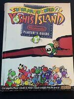 Super Mario World 2: Yoshi's Island Official Nintendo Players Guide - SNES