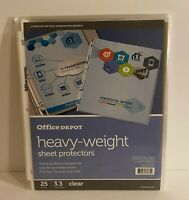 Office Depot Water Resistant Clear Poly File Folders Letter Size 15 Pk 3 Tab