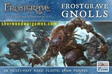 28mm Frostgrave Gnolls, Medieval Fantasy Adventures, Multipose, Skirmish