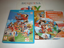 "ONE PIECE UNLIMITED WORLD RED DE WII U ""EN ESPAÑOL"" Y CON ENVIO GRATIS"