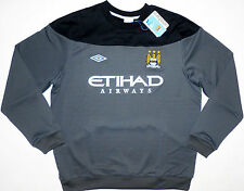 Manchester City Training Sweatshirt Top M.C.F.C 2011-12 Size 3XL Umbro NEW TAGS