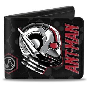 Marvel Antman Ant man The WASP Boys Men Leather Money Wallet Bi fold Avengers