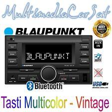 Blaupunkt Autoradio Doppio Din VivaVoce USB Bluetooth Vintage Retro' Palma 190BT