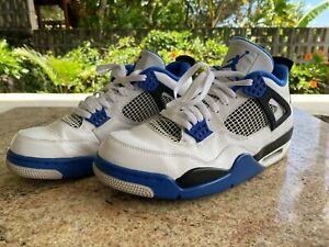 Nike Jordan IV Retro Motorsports Size 12 Used Shoes %
