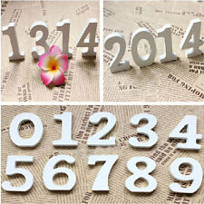 Freestanding Wood Wooden Numbers Heart Bridal Wedding Party Home Decorations 1