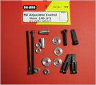 Du-Bro 912 Heavy Duty Adjustable Control Horn (.40-.91)