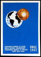CILE 1962 #15 WORLD CUP STORY PANINI Adesivo (c350)