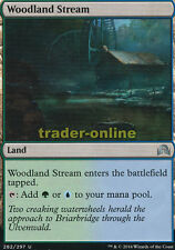 2x Woodland Stream (Waldlandstrom) Shadows over Innistrad Magic