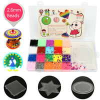11,000 Hama Beads 20 Colors 3 Peg Boards 2 Sheet Kit Girls & Boys Craft DIY