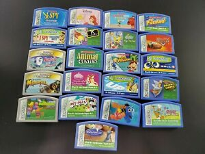 Lot of 21 Leapfrog Leapster Games Cartridges