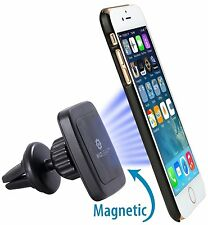 WizGear Universal Air Vent Magnetic Car Mount Cell Phone Holder Rectangle Design