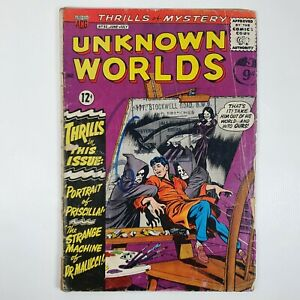 Unknown Worlds No 32 June-July 1964 American Comic Book Comics Group