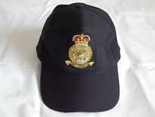 ROYAL AIR FORCE POLICE ( RAFP ) BASEBALL CAP WITH BULLION WIRE BADGE (BLK)