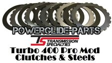 TSI T-400 Turbo 400 TH-400 Pro Mod Clutches And Steels For TSI Pro Mod Drum