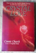 CRYSTAL LOVE by Connie Church (Villard Books Paperback) USA First edition