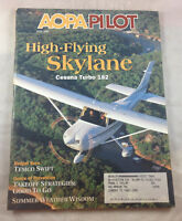 Cessna Turbo 182 Temco Swift June 2001  AOPA Pilot Magazine Airplane Aviation