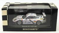 Minichamps 1/43 Scale Model Car 400 016977 - Porsche 911 GTR3 Le Mans 24Hr 2001