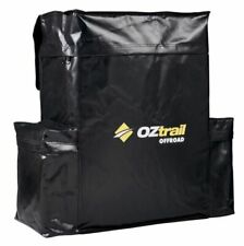 OZtrail Rear Spare Wheel Bin Black 60l Recovery Storage Bag Accessory 4x4 4wd