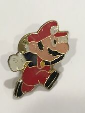 Mario Running, Vintage Nintendo Collector Pins, Series A, 1 of 18