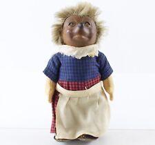 "Steiff Mucki Hedgehog with Dress 7"" Rubber Vintage"