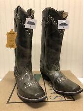 #489 NIB Smoky Mountain women's boots, gray, size 7M