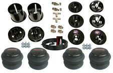 38 Front Rear Air Ride Suspension Bag Bracket Mount Kit For 1965 70 Cadillac