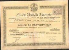 DECO => SOCIÉTÉ MUTUELLE FRANÇAISE (LYON 69) (W)