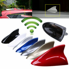 Car SUV Auto Roof Shark Fin Antenna Aerial Cover FM/AM Radio Signal Universal