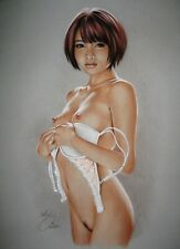 PRINT OF THE ORIGINAL *** PIN UP ART by SLY *** DRAWING # 9159