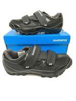 Shimano SH-M065L MTB Shoes Men's Size US 6.7 Euro Size 40 Cycling SPD New Black