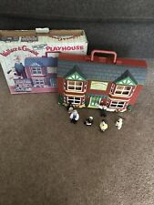 Wallace And Gromit Playhouse Collectable Wash N Go Playset Boxed With 6 Figures