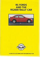 FORD Escort RS1600 RS2000 SIERRA RS COSWORTH RS200 RS Focus' 70-01 roadtest LIBRO