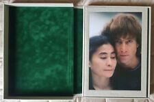 SIGNED Double Fantasy John Lennon Yoko Ono LP Pix Kishin Shinoyama book Taschen