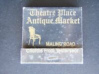 THEATRE PLACE ANTIQUE MARKET 117 MALING RD CANTERBURY 8368927 MATCHBOOK
