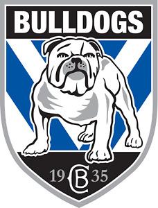 Mobile Phone Sticker - Waterproof - NRL Canterbury Bulldogs