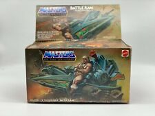 New ListingMotu Battle Ram Masters of the Universe vintage He-Man Origins Lot complete Box