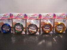 5 New Purple Cows Craft Geek Wind It Wire Gold,Copper,Black,Green,B lue