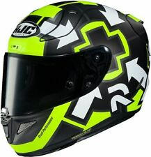 HJC RPHA 11 IANNONE REPLICA MC4 29 MOTORCYCLE HELMET- MEDIUM