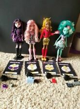 Monster High Frights Camera Action Elissabat Viperine Clawdia Honey