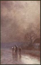 A Misty Morning,Perhaps. Unlocated Printed Postcard by Solomon Bros.