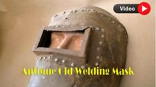 Vintage Old Soviet Ussr Welding Mask Welder Protective Welders Gear Hand Held